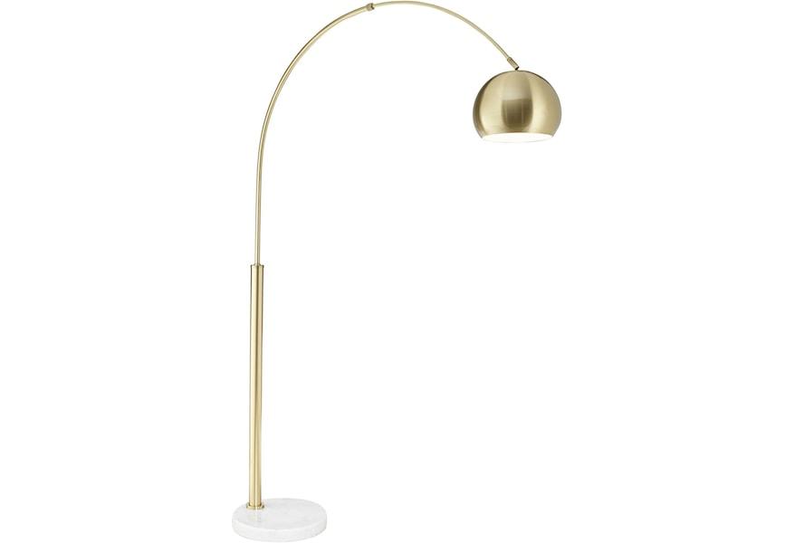 Floor Lamps Basque Arc Lamp Gold