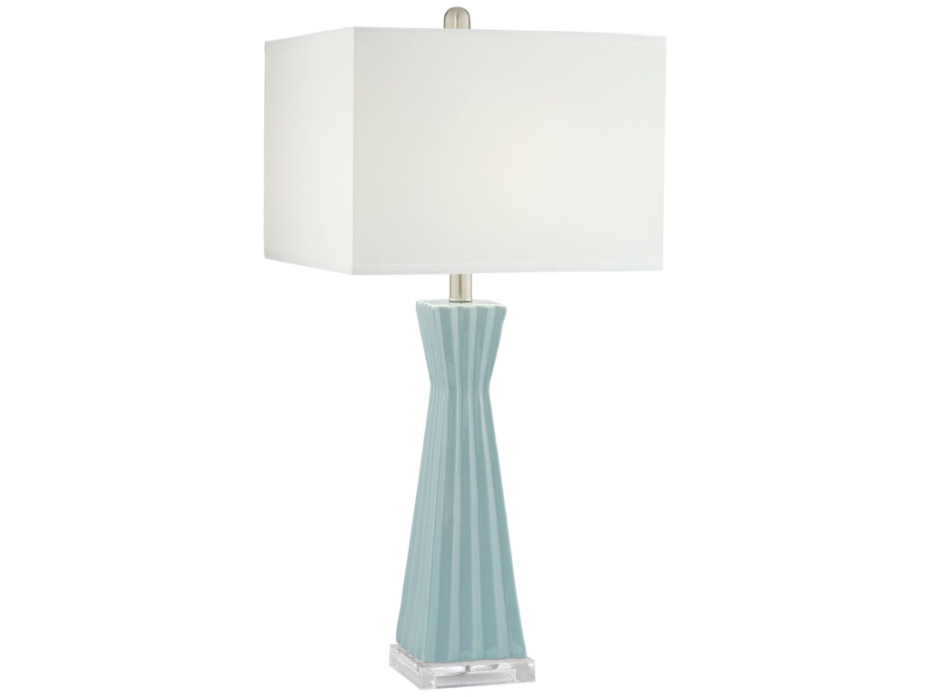 Pacific Coast Lighting Table Lamps 87 10253 93a Square Column
