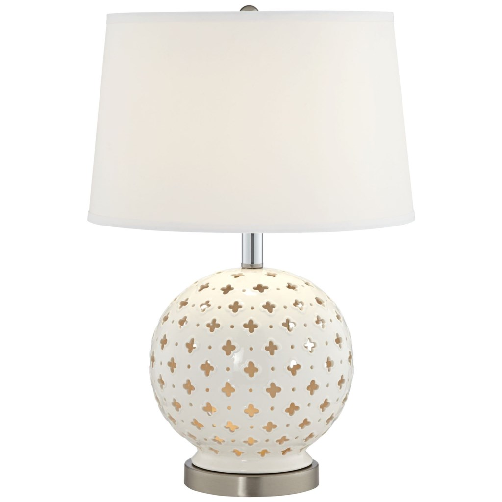 Pacific Coast Lighting Table Lamps 87 10256 70 Ceramic Metal Lamp