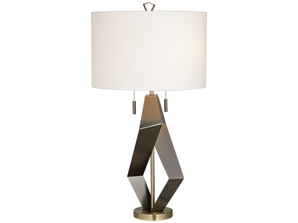 Pacific coast lighting table lamps 87 7736 07 black quadrant table pacific coast lighting table lampsblack quadrant table lamp aloadofball Gallery
