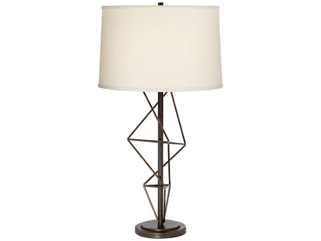 Pacific coast lighting table lamps 87 7961 22 geometric metal table pacific coast lighting table lampsgeometric metal table lamp aloadofball Gallery