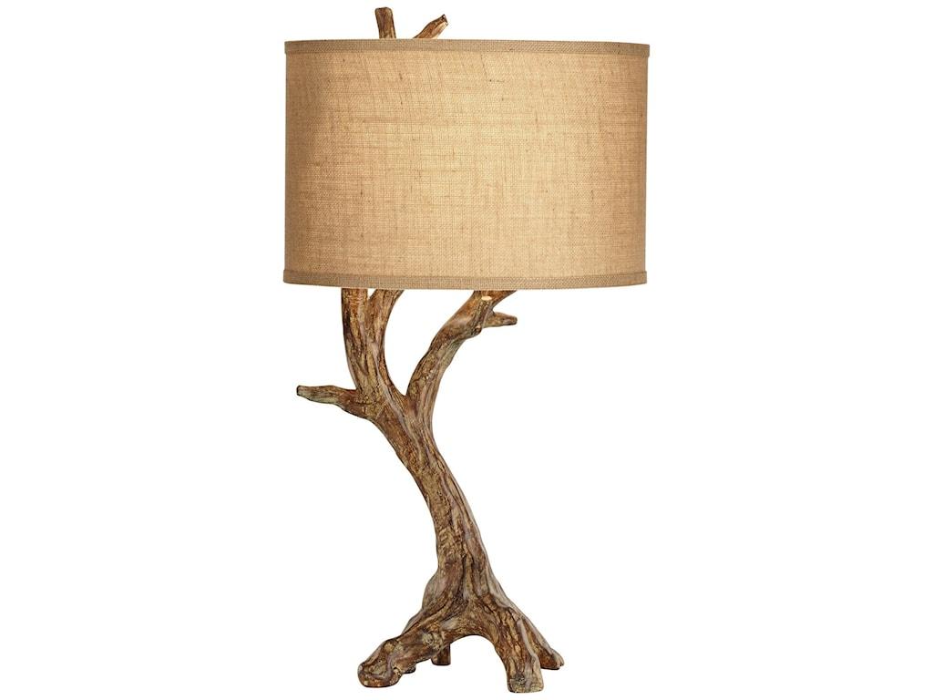 Pacific Coast Lighting Table LampsBeachwood Table Lamp