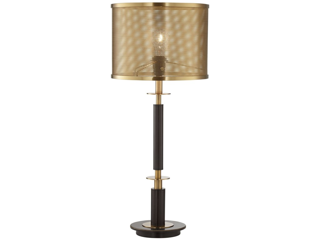 Pacific coast lighting table lamps column with perforated shade pacific coast lighting table lampscolumn with perforated shade table lamp aloadofball Gallery