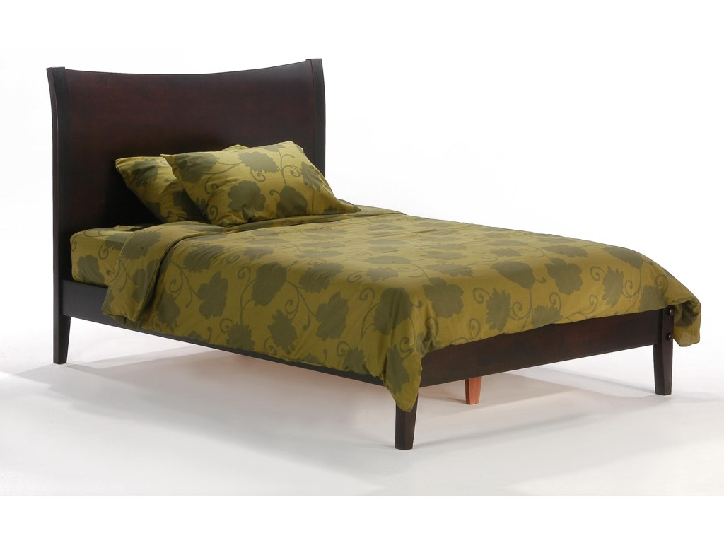 Pacific Manufacturing Blackpepper - ChocolateCal King Bed