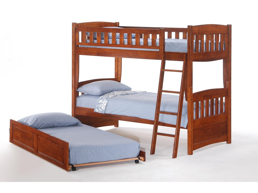 Pacific Manufacturing CinnamonTwin Trundle