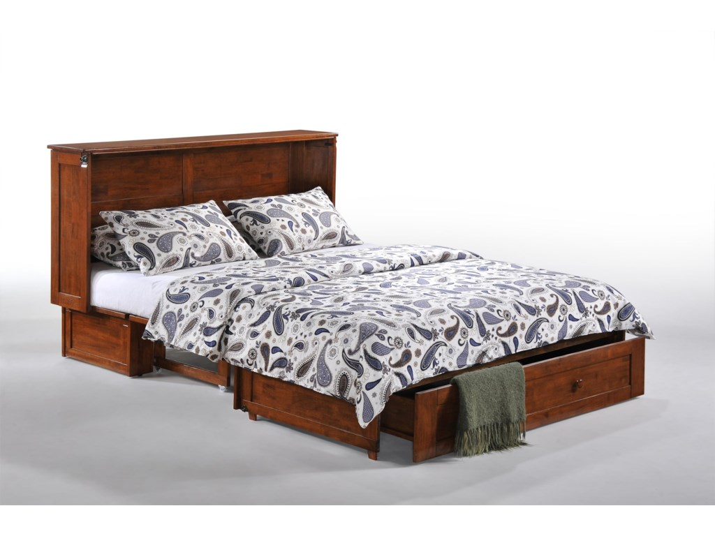 Pacific Manufacturing Murphy Chest BedClover