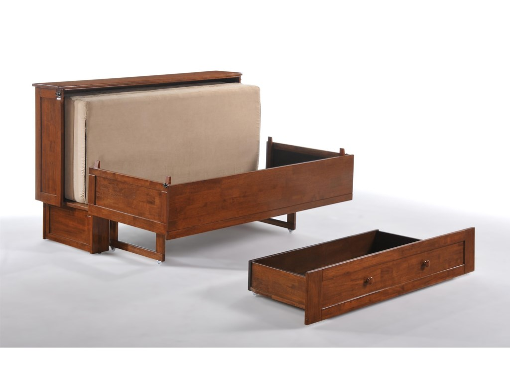 Night & Day Furniture Murphy Chest BedClover