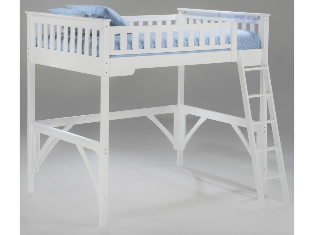Pacific Manufacturing GingerTwin Loft Bunkbed