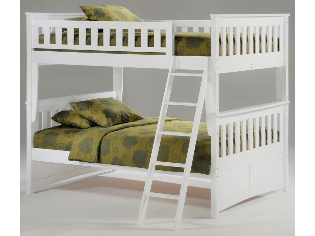 Pacific Manufacturing GingerFull over Full Bunkbed
