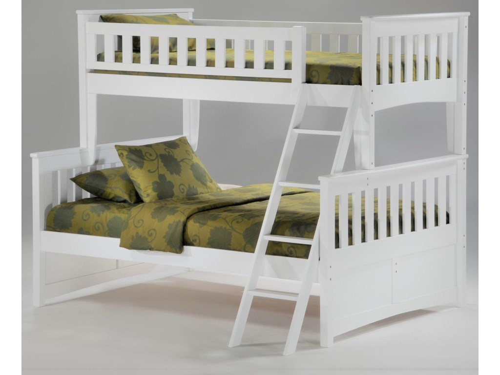 Pacific Manufacturing GingerTwin over Full Bunkbed
