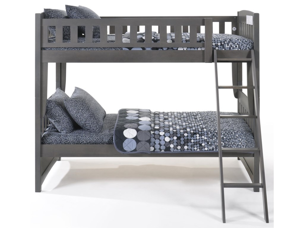 Night & Day Furniture SpiceTwin/Twin Bunkbed