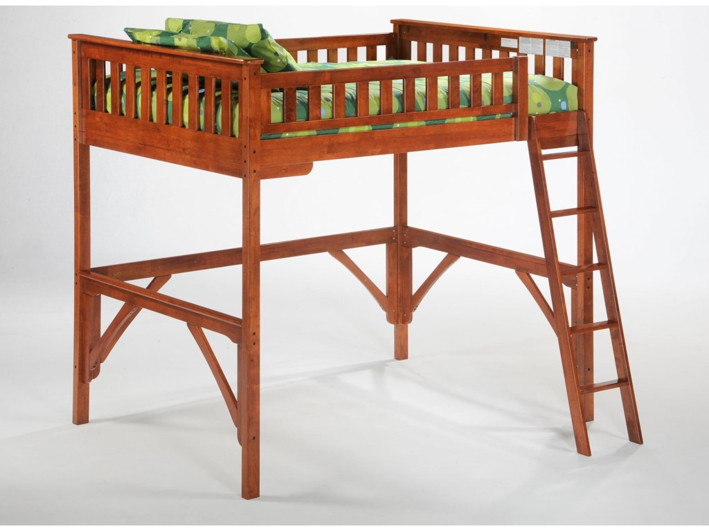 Night & Day Furniture SpiceFull Loft Bed