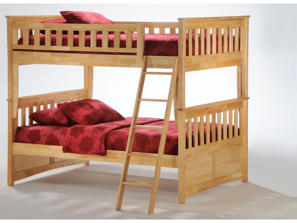 Night & Day Furniture SpiceFull/Full Bunkbed