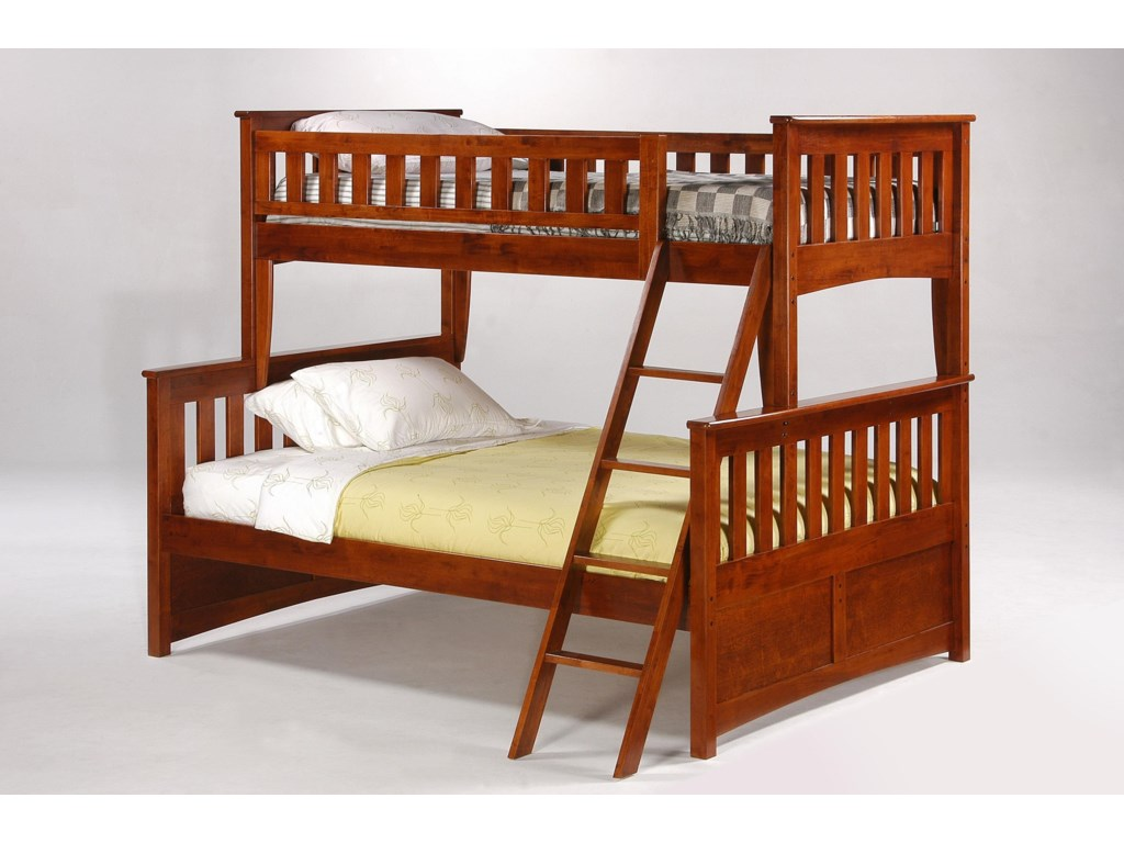 Night & Day Furniture SpiceTwin/Full Bunkbed