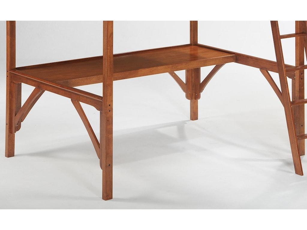 Night & Day Furniture SpiceStraight Loft Desk