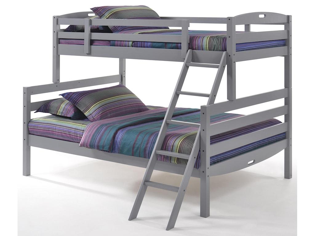 Night & Day Furniture ZestTwin/Full Bunkbed