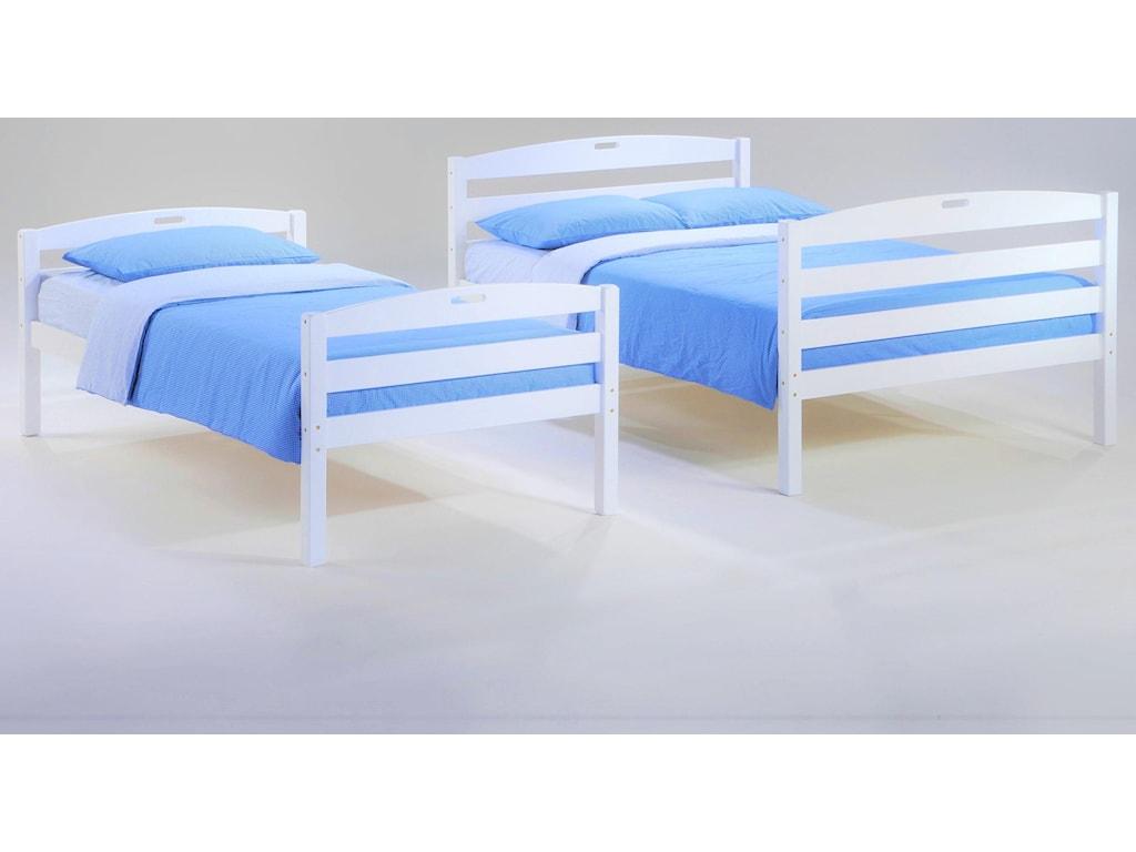 Night & Day Furniture ZestSesame Twin/Full Bunkbed