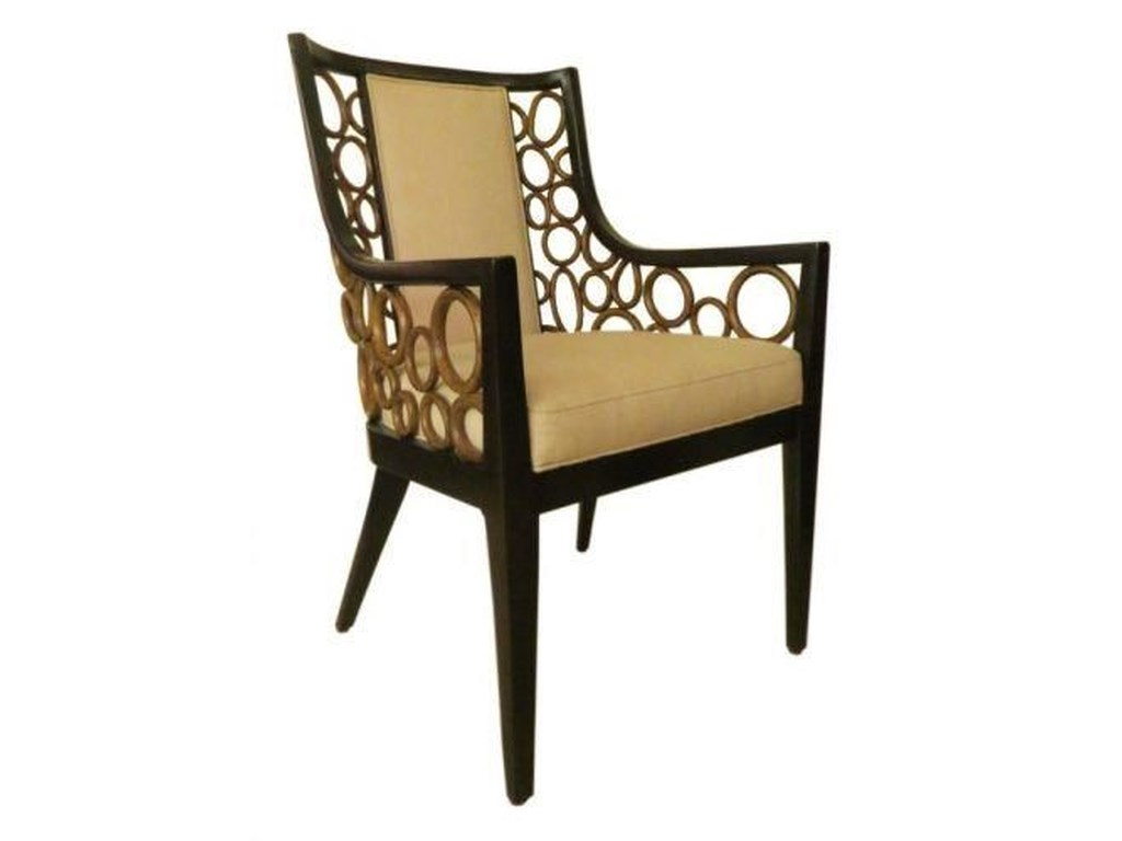 C.S. Wo & Sons AnnDining Arm Chair