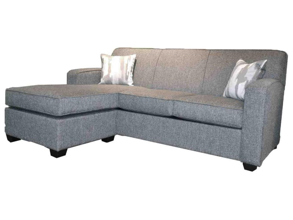 Paiano 1525Double Sofabed with Reversable Chaise