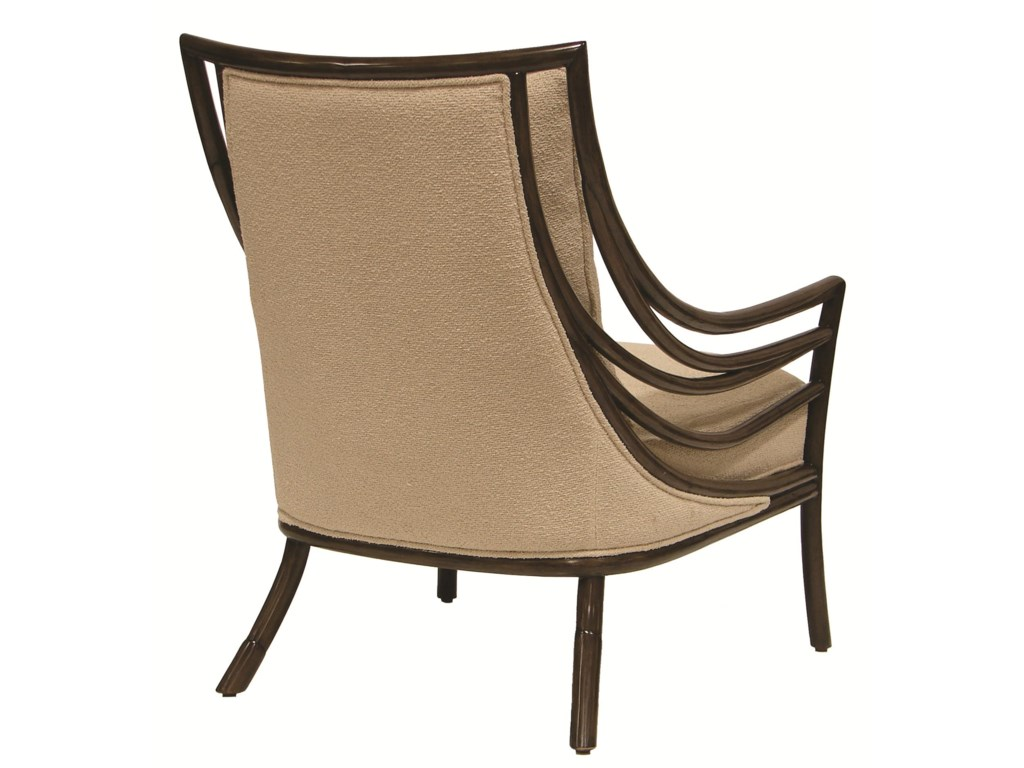 Palecek Accent Chairs by PalecekCrescent Lounge Chair