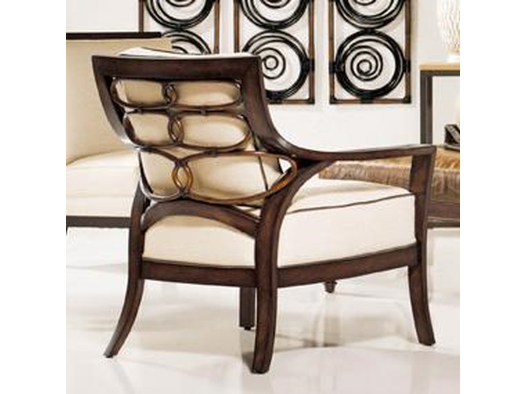 Palecek Accent Chairs By Palecek 7932 83 8313 32 Transitional Rattan