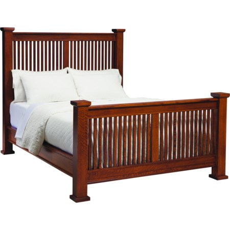 Queen Mission Bed