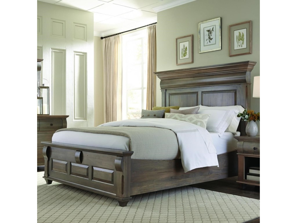 Palettes by Winesburg Bartletts IslandQueen Panel Bed