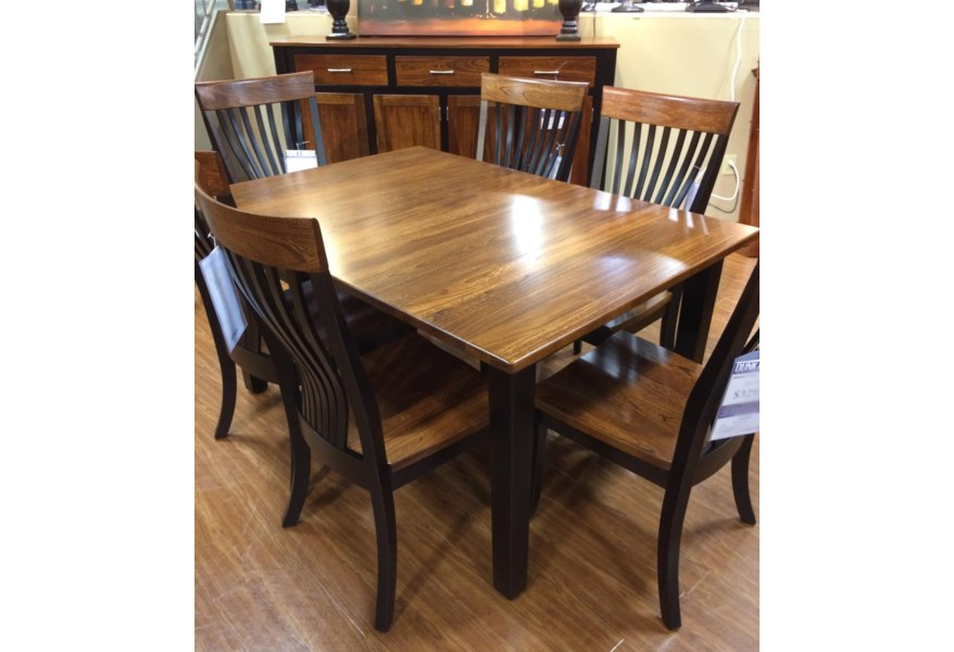 Two Tone Dining Set Home Ideas