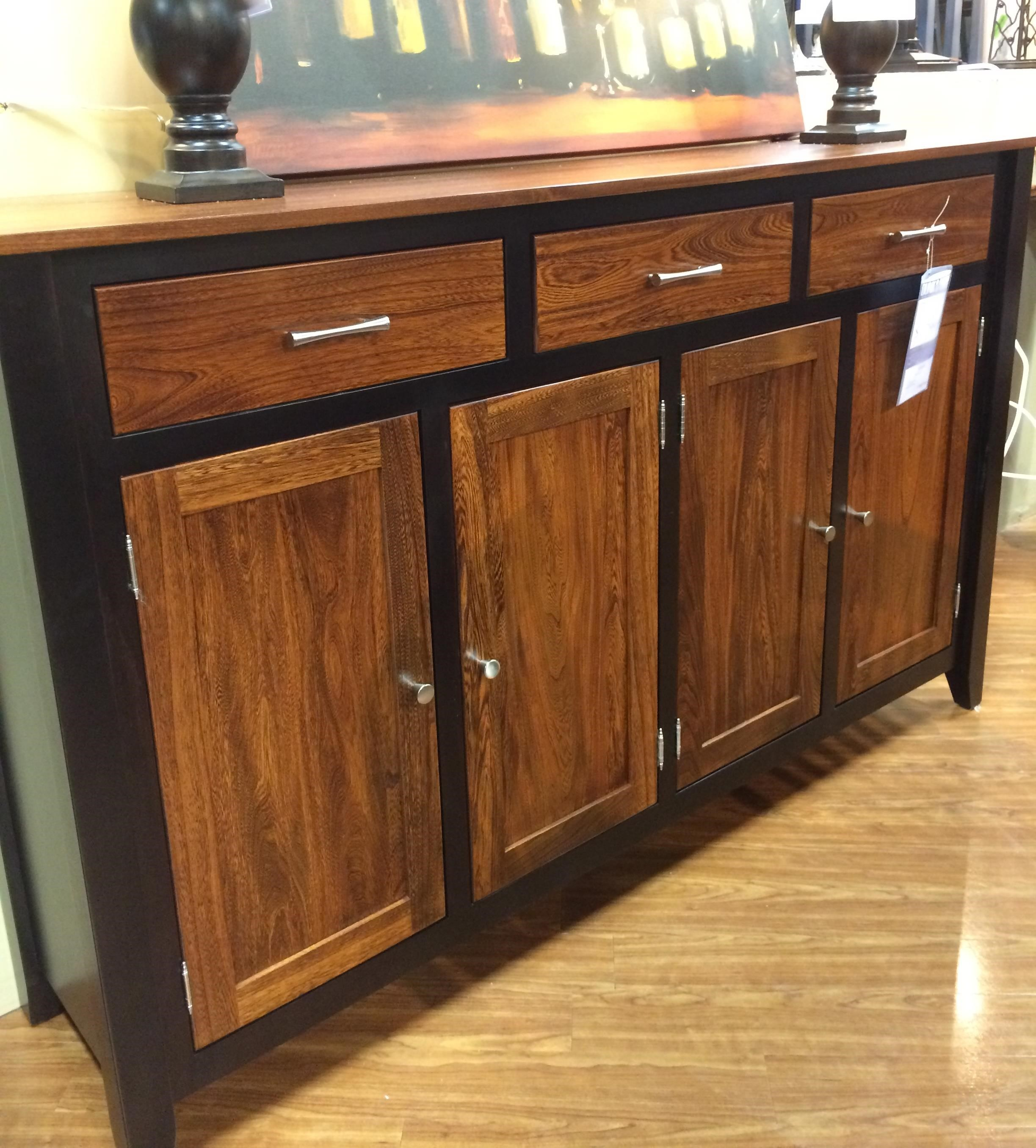 palettes furniture. Palettes By Winesburg BLK/ELMTwo Toned Buffet Furniture