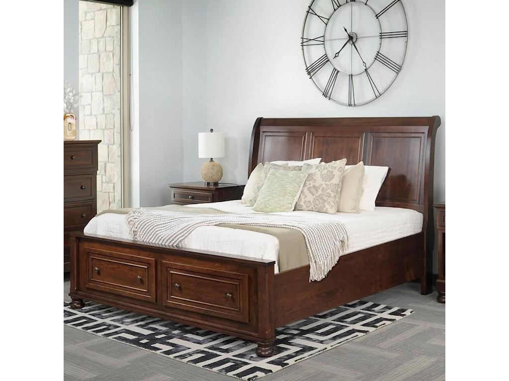 Palettes by Winesburg BrigantineKing Sleigh Bed