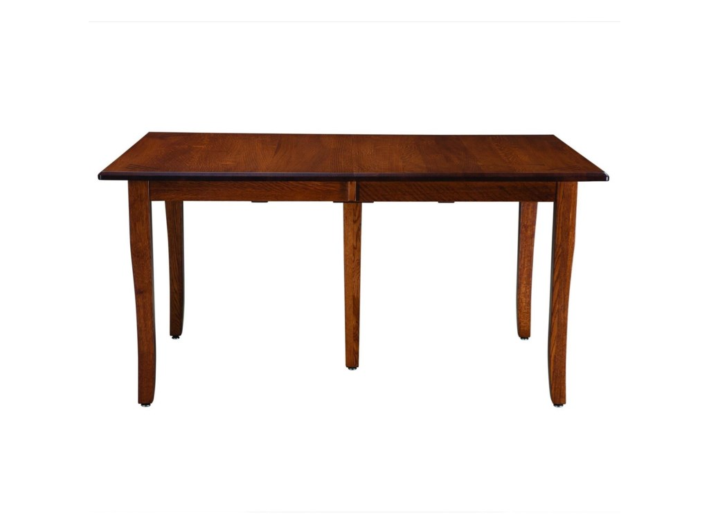 Palettes by Winesburg Classic ShakerCustomizable Table