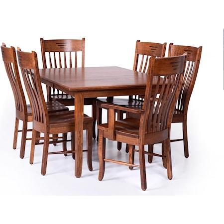 Customizable 7 Piece Dining Set