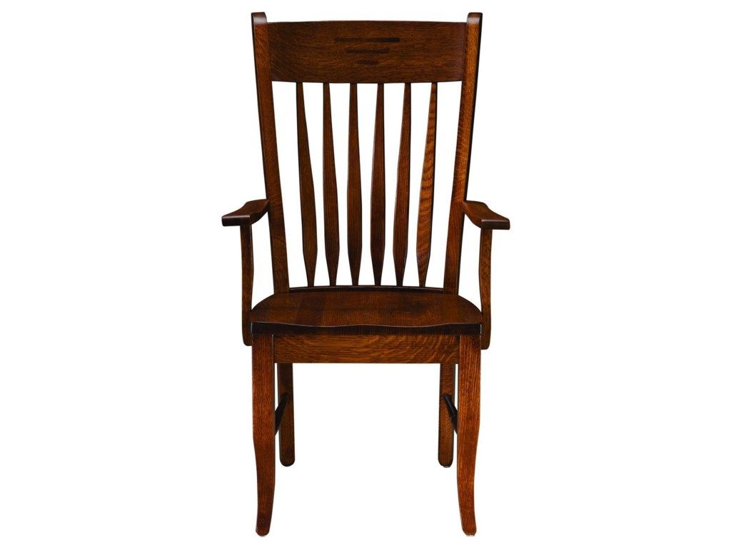 Palettes by Winesburg Classic ShakerArm Chair