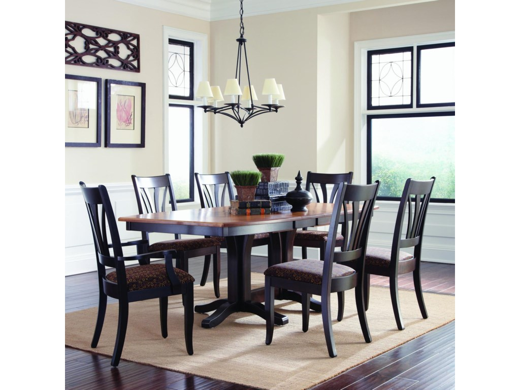 Palettes by Winesburg Hartford Customizable 7 Pc. Table Set