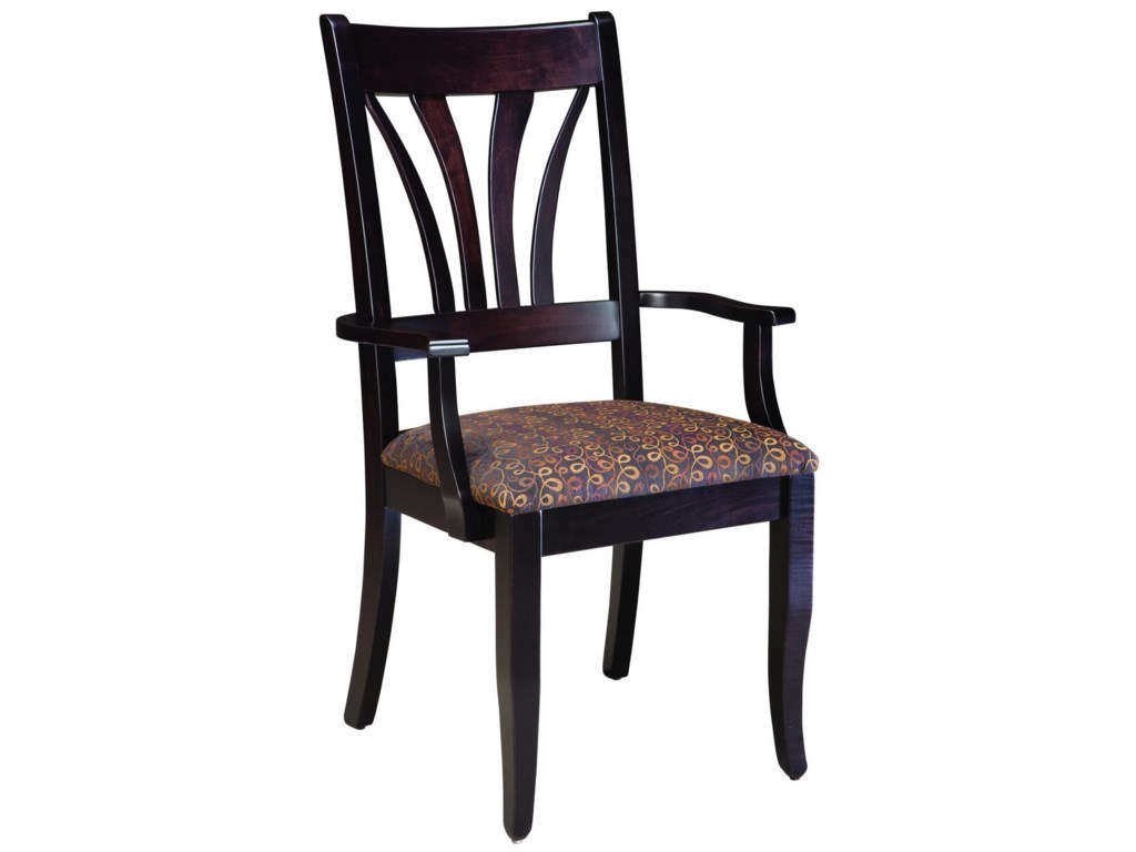 Palettes by Winesburg Hartford Customizable Arm Chair