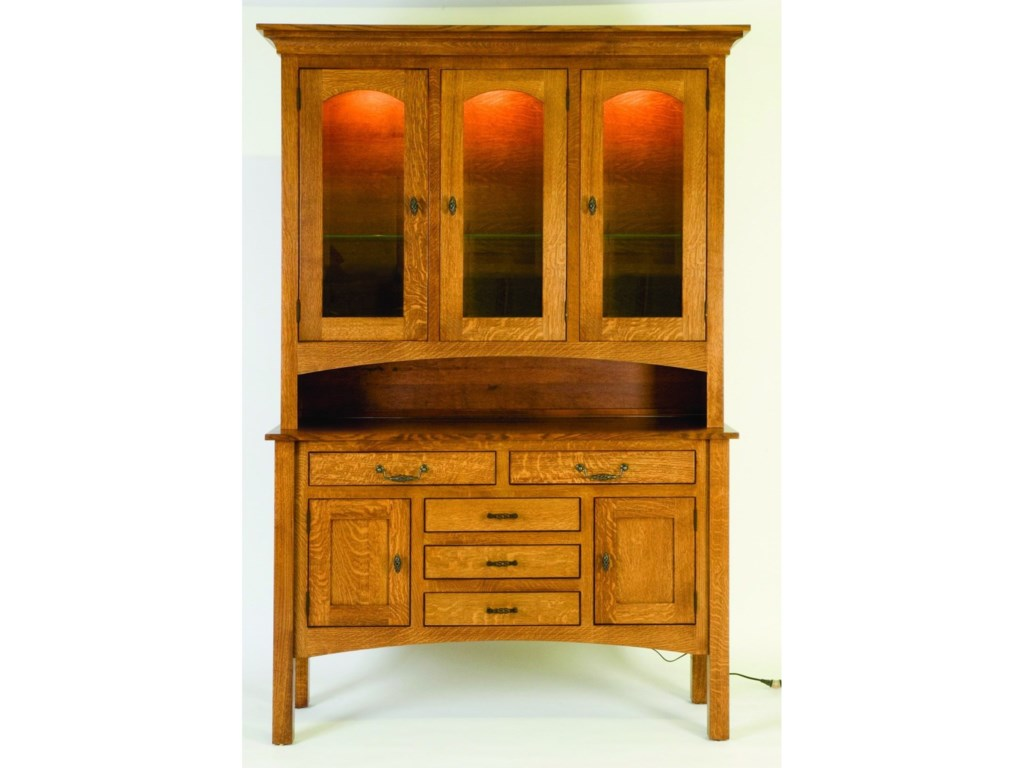 Palettes by Winesburg HighlandCustomizable Dining Buffet and Hutch