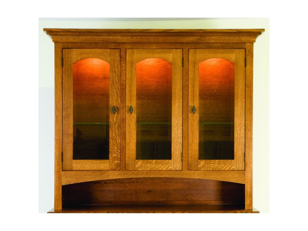 Palettes by Winesburg HighlandCustomizable Dining Hutch