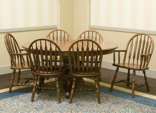 Palettes by Winesburg Jr. Bowback GroupCustomizable 7 Pc. Table & Chair Set