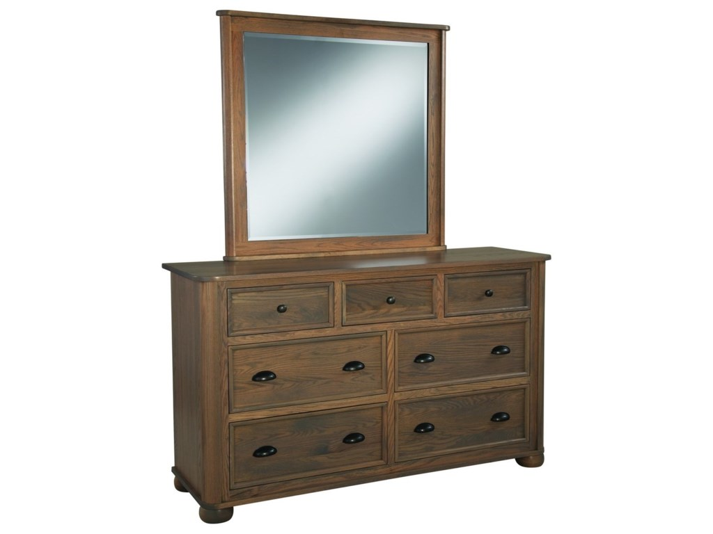 Palettes by Winesburg KingsportDresser and Mirror Set