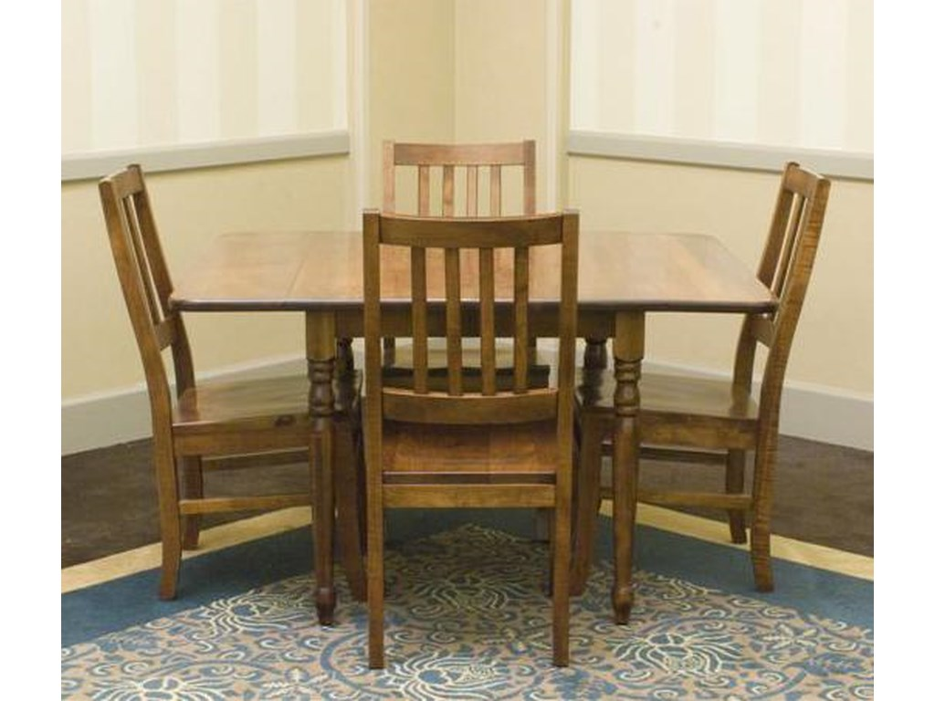 Palettes by Winesburg Lance Customizable 5 Pc. Table Set