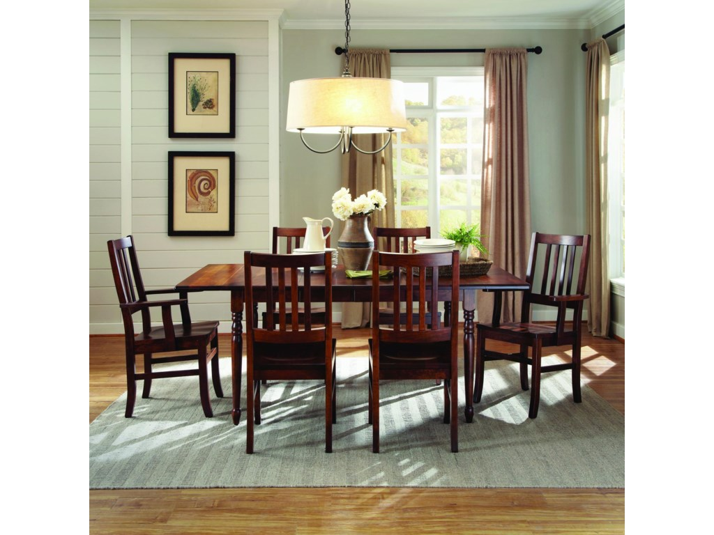 Palettes by Winesburg Lance Customizable Side Chair