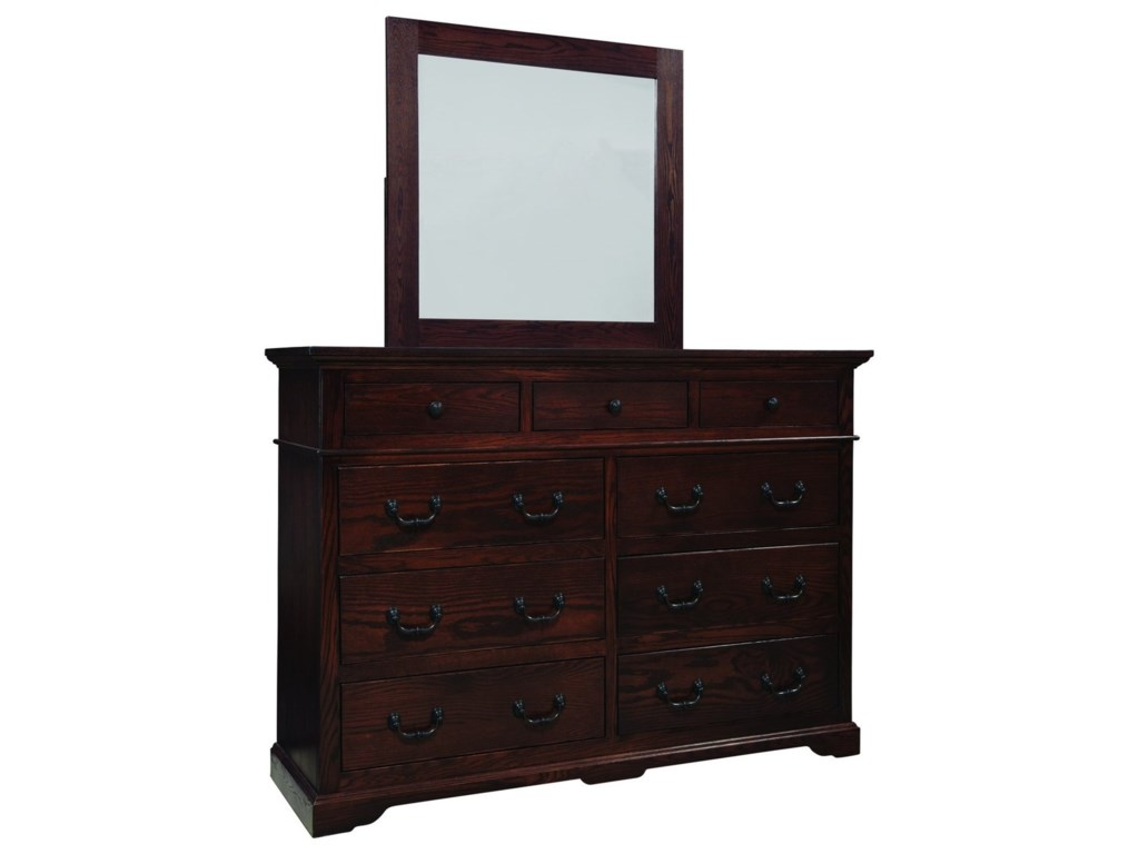 Palettes by Winesburg LongmeadowDresser and Mirror Set