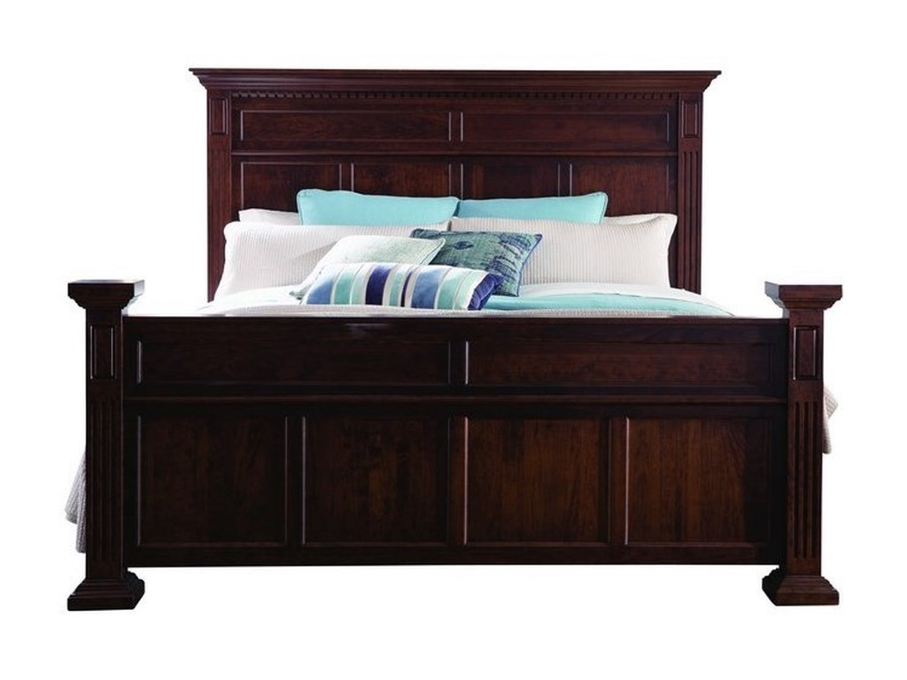 Palettes by Winesburg MontclairQueen Panel Bed