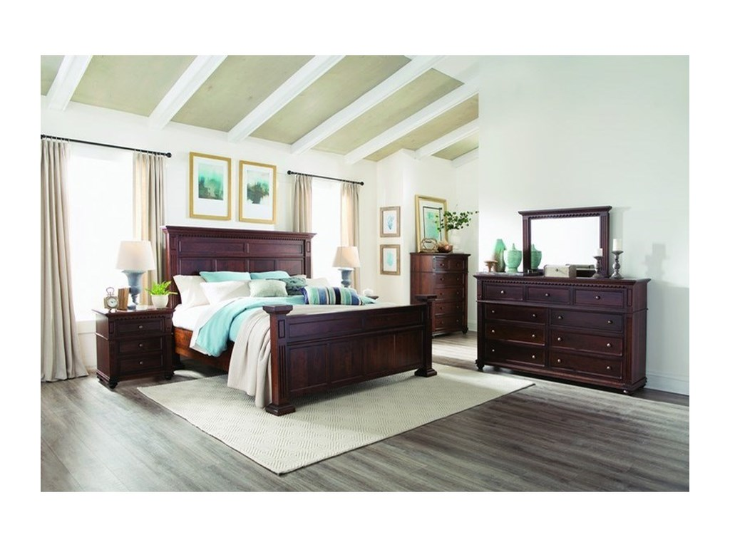 Palettes by Winesburg Montclair3-Drawer Nightstand
