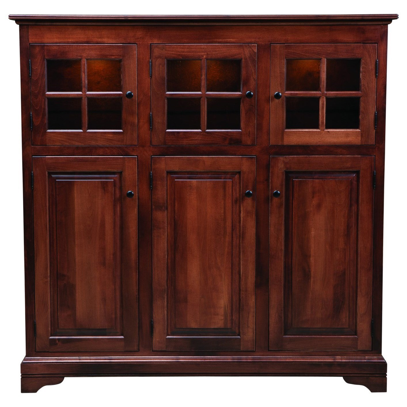 Palettes By Winesburg New EnglandDoor Cabinet ...