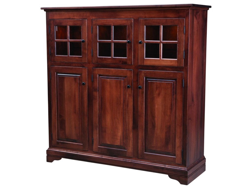 Palettes by Winesburg New EnglandDoor Cabinet