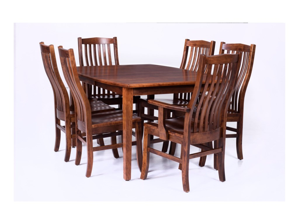 Palettes by Winesburg Prestige Customizable 7 Piece Table Set