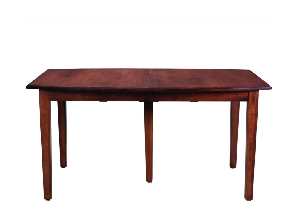 Palettes by Winesburg Prestige Customizable Boat Shaped Table