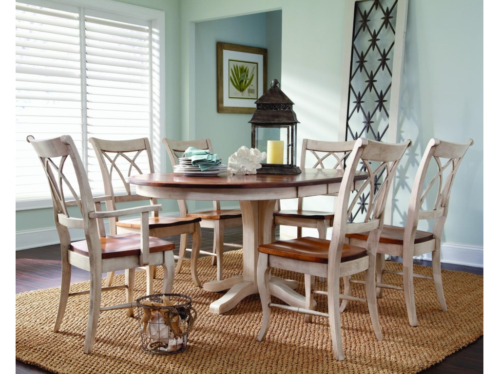 Palettes by Winesburg AdamsCustomizable 7 Pc. Table Set