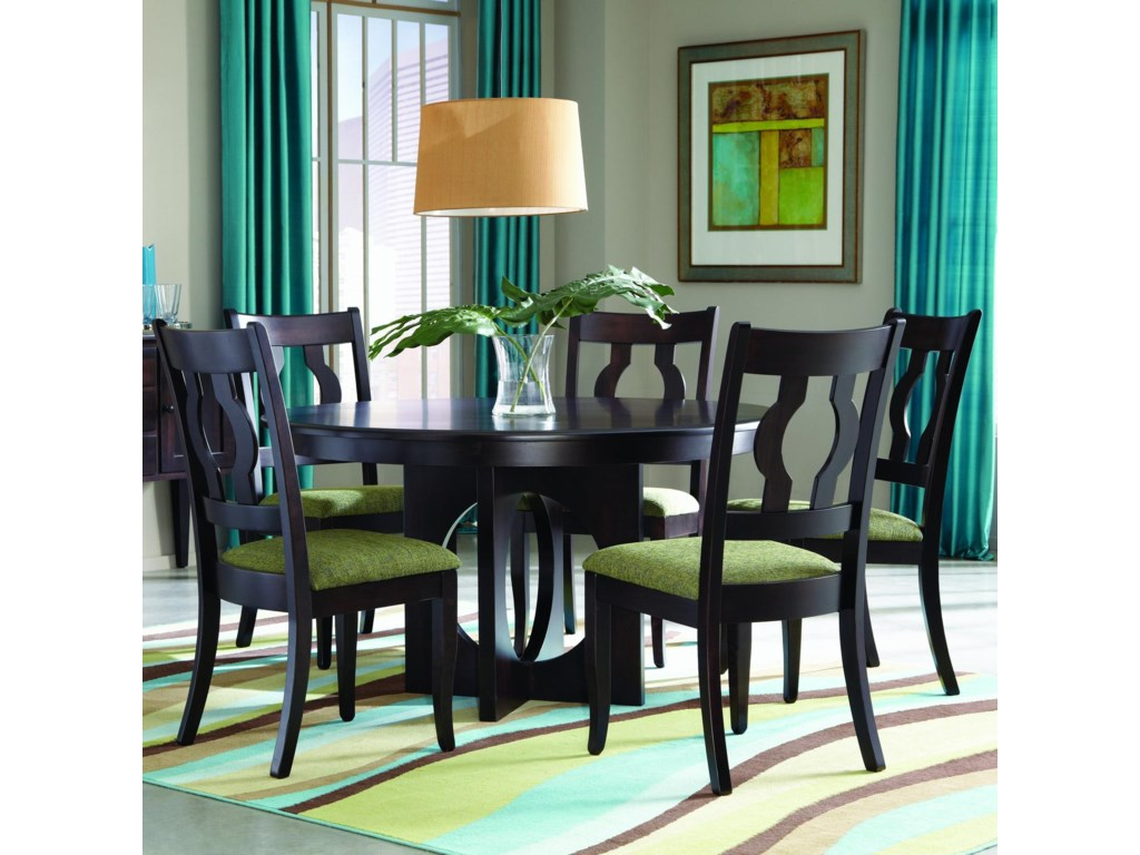 Palettes by Winesburg Single MetroCustomizable 5 Pc. Table Set